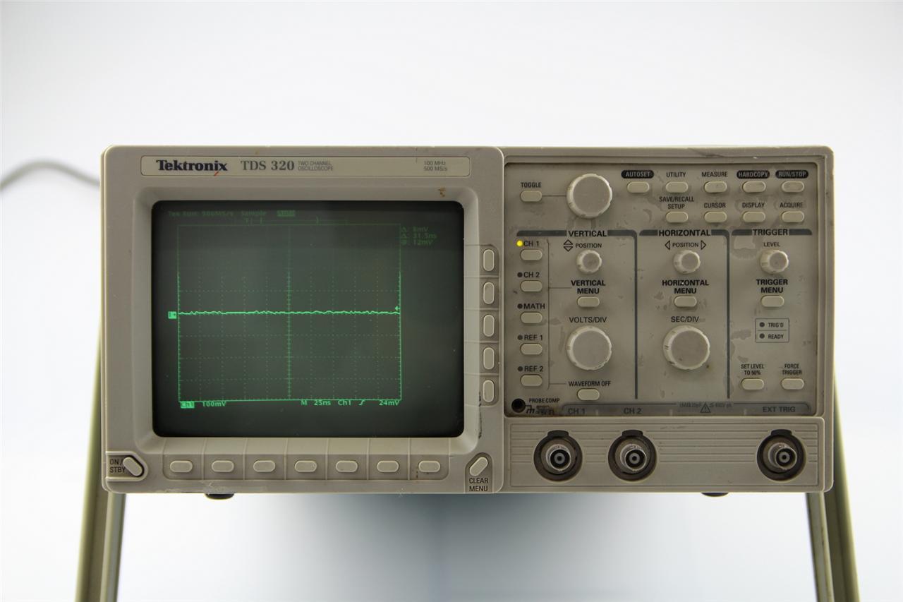 Best Tektronix Oscilloscope : Tektronix tds channel mhz ms s digital