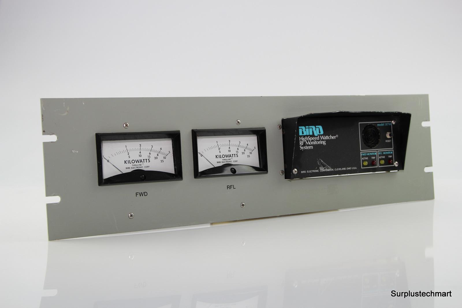 Surplus Electronic Test Equipment : Bird a high speed wattcher rf power meter monitoring