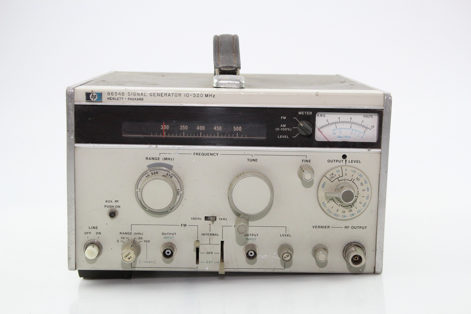 Hp Signal Generator : Hewlett packard signal generator hp b mhz opt