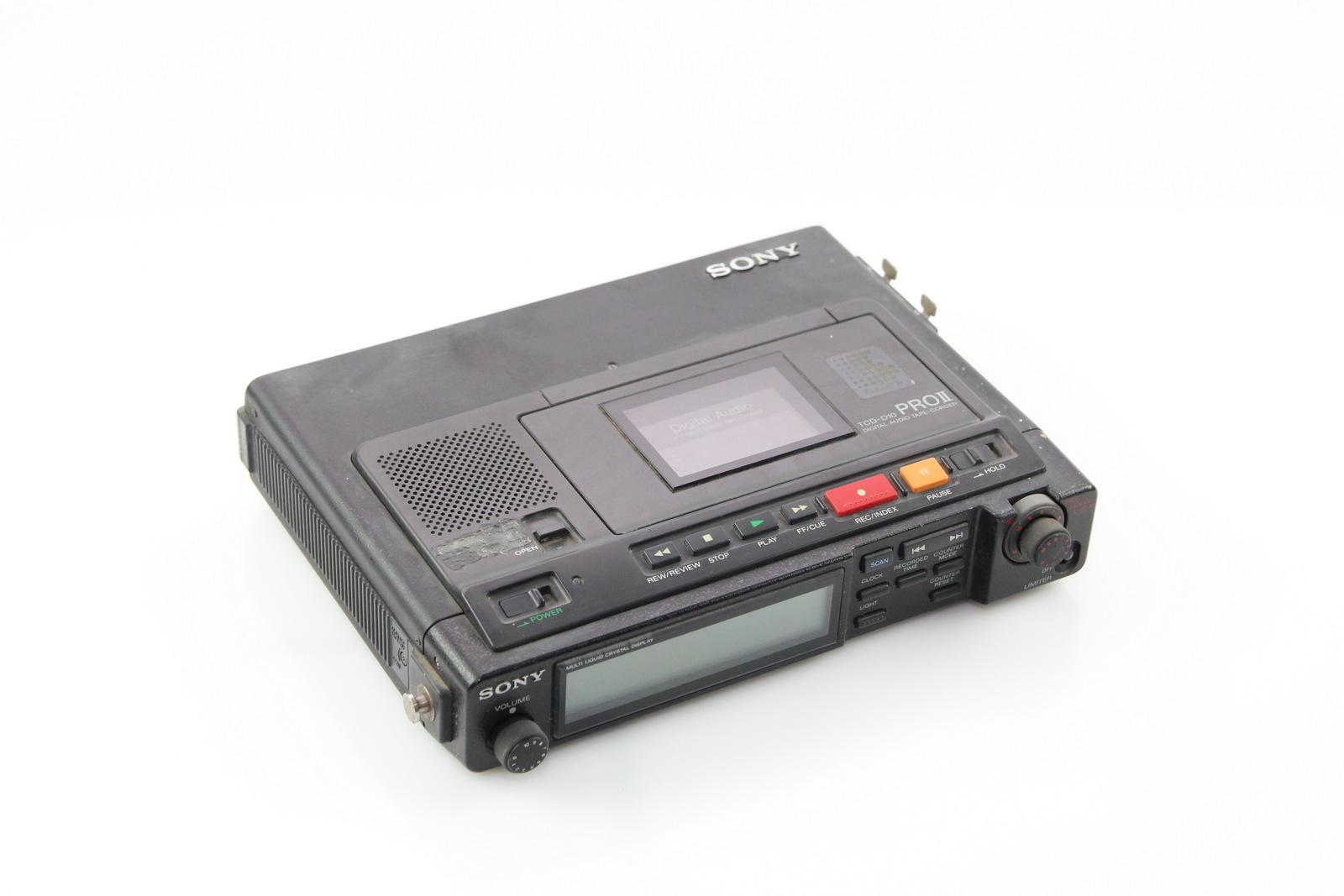 Surplus Electronic Test Equipment : Sony tcd d pro ii digital audio tape recorder dat ebay