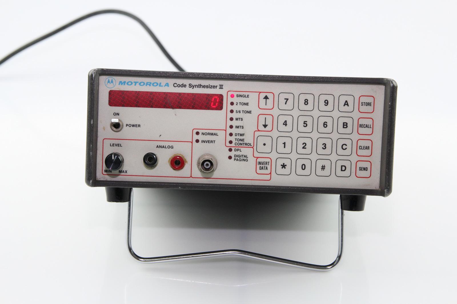 Surplus Electronic Test Equipment : Motorola code synthesizer ii r d ebay