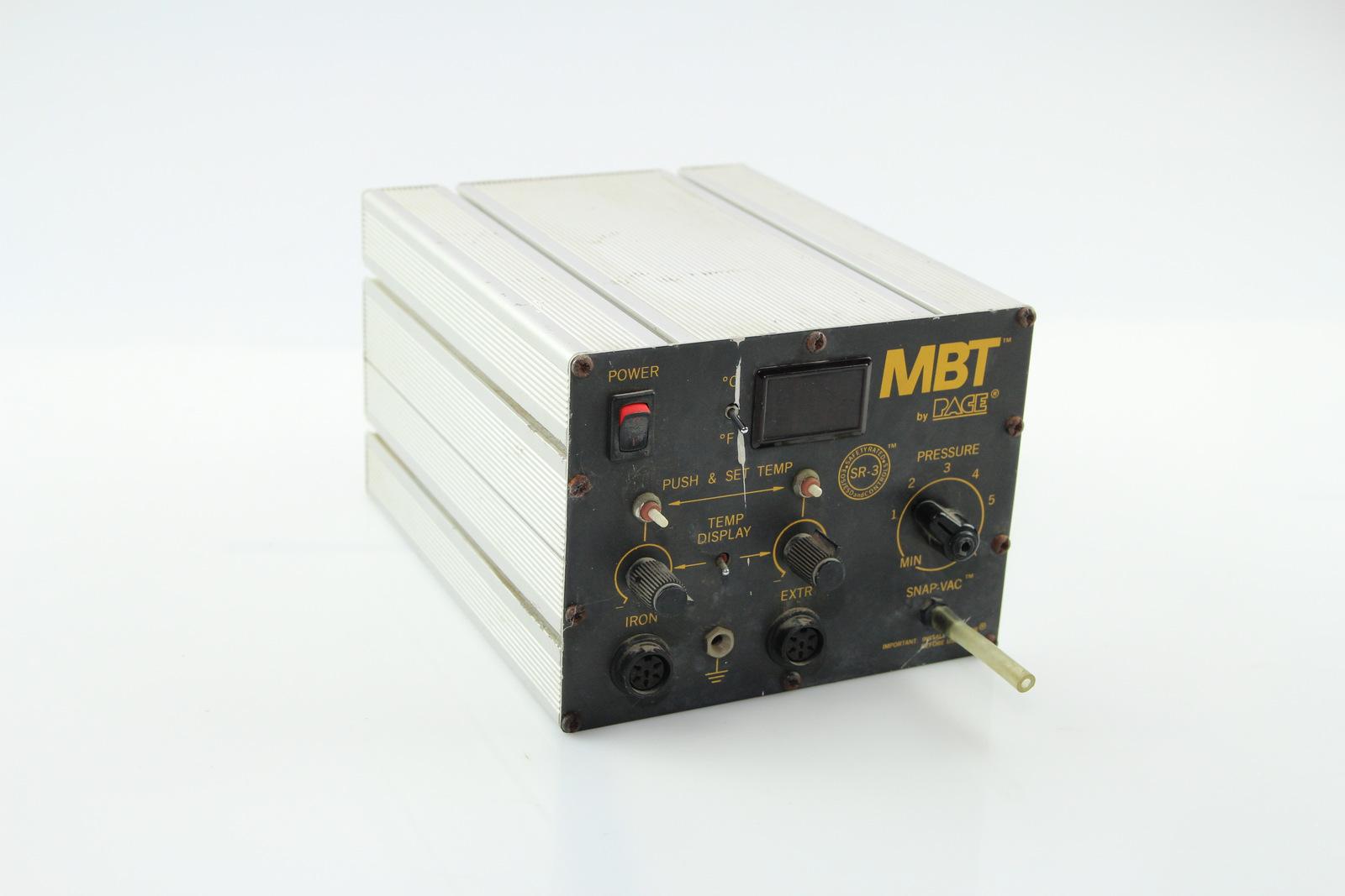 Surplus Electronic Test Equipment : Pace mbt e solder desolder station