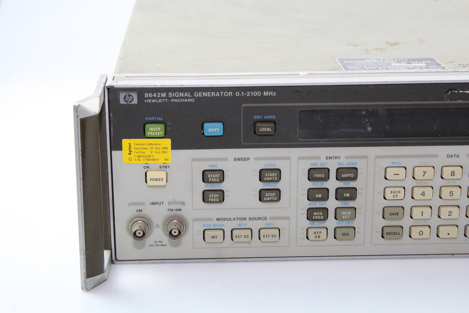 Surplus Electronic Test Equipment : Hp m signal generator mhz ebay
