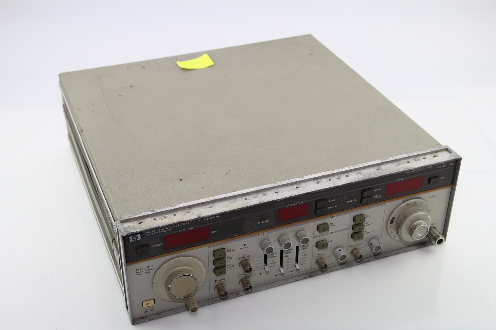 Surplus Electronic Test Equipment : Hp d signal generator ebay