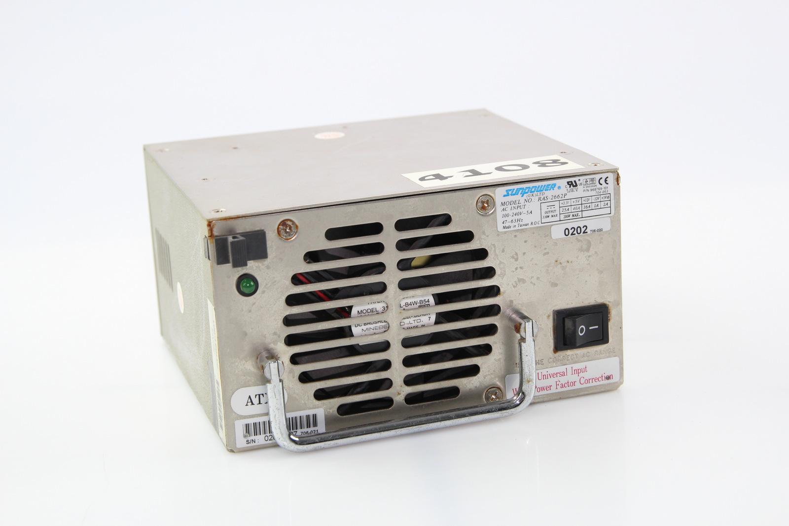 Surplus Electronic Test Equipment : Sunpower model no ras p power supply w ebay