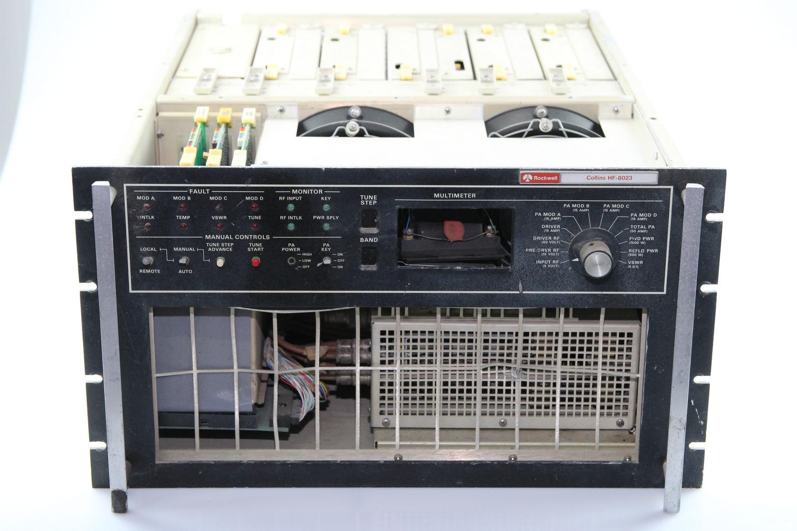 Surplus Electronic Test Equipment : Collins hf amplifier ebay