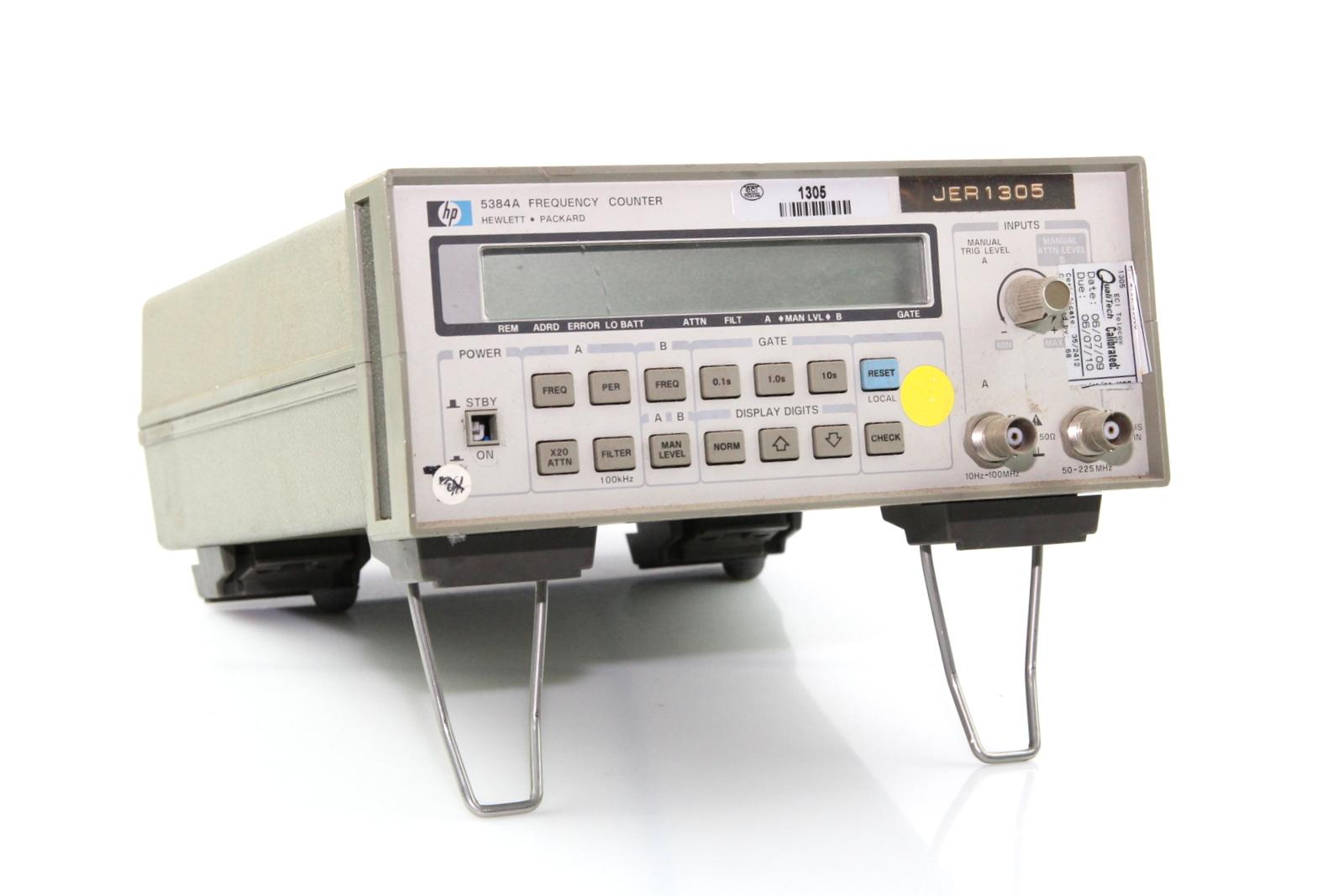 Hp Frequency Counter : Hewlett packard hp a frequency counter ebay