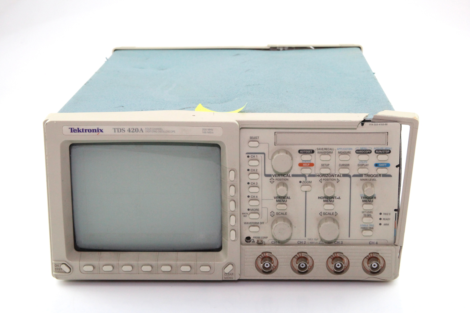 Best Tektronix Oscilloscope : Tektronix tds a four channel digitizing