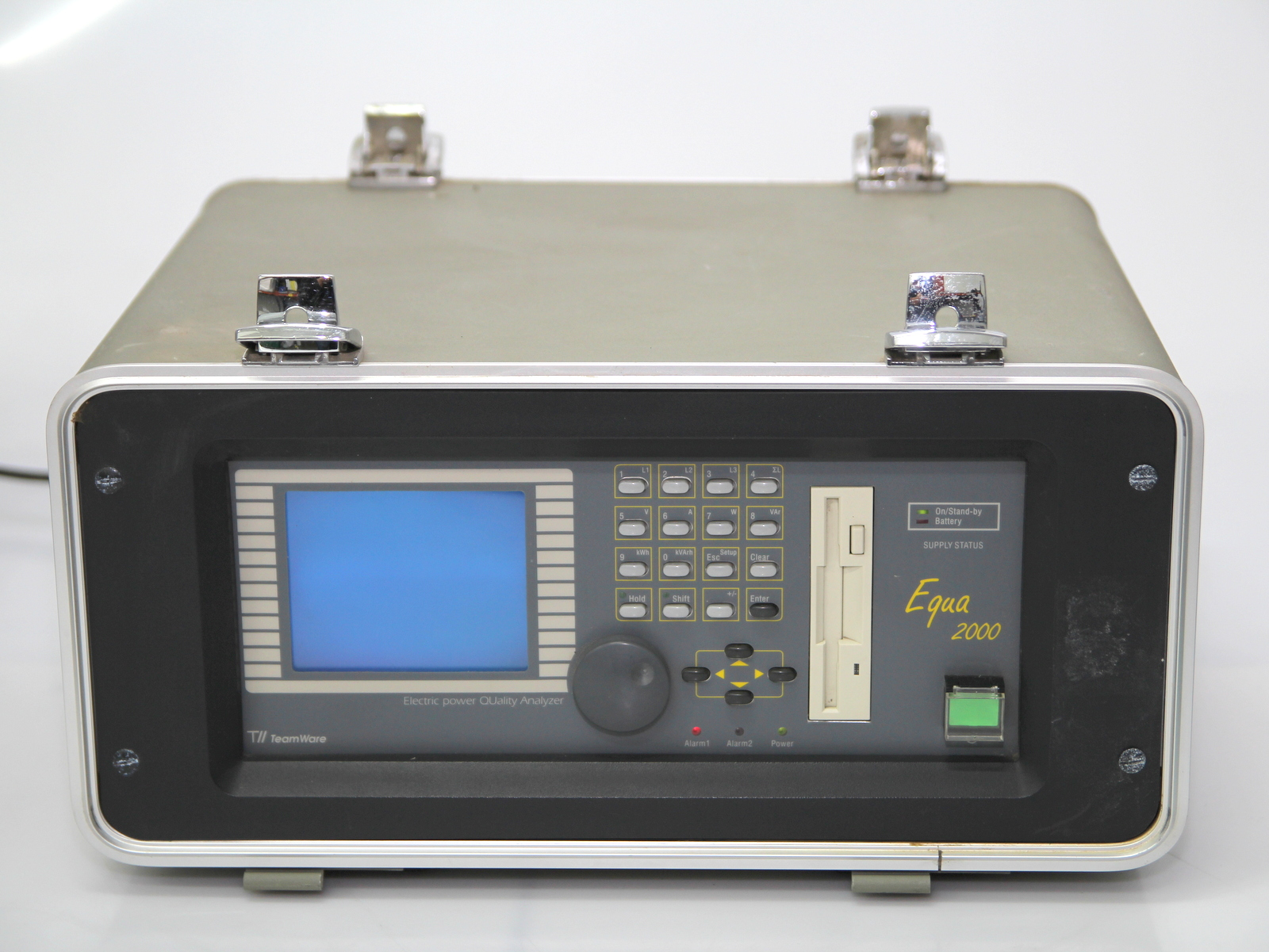 Surplus Electronic Test Equipment : Teamware electric power quality analyzer equa ebay