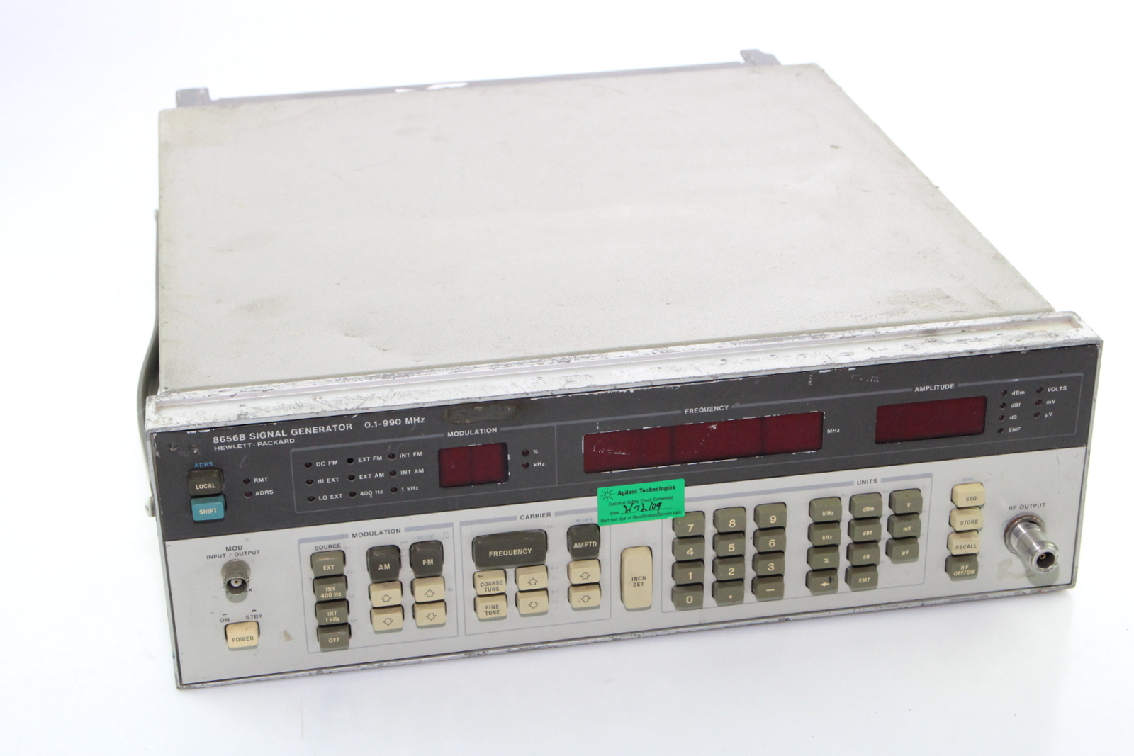 Hp Signal Generator : Hp b signal generator  mhz ebay