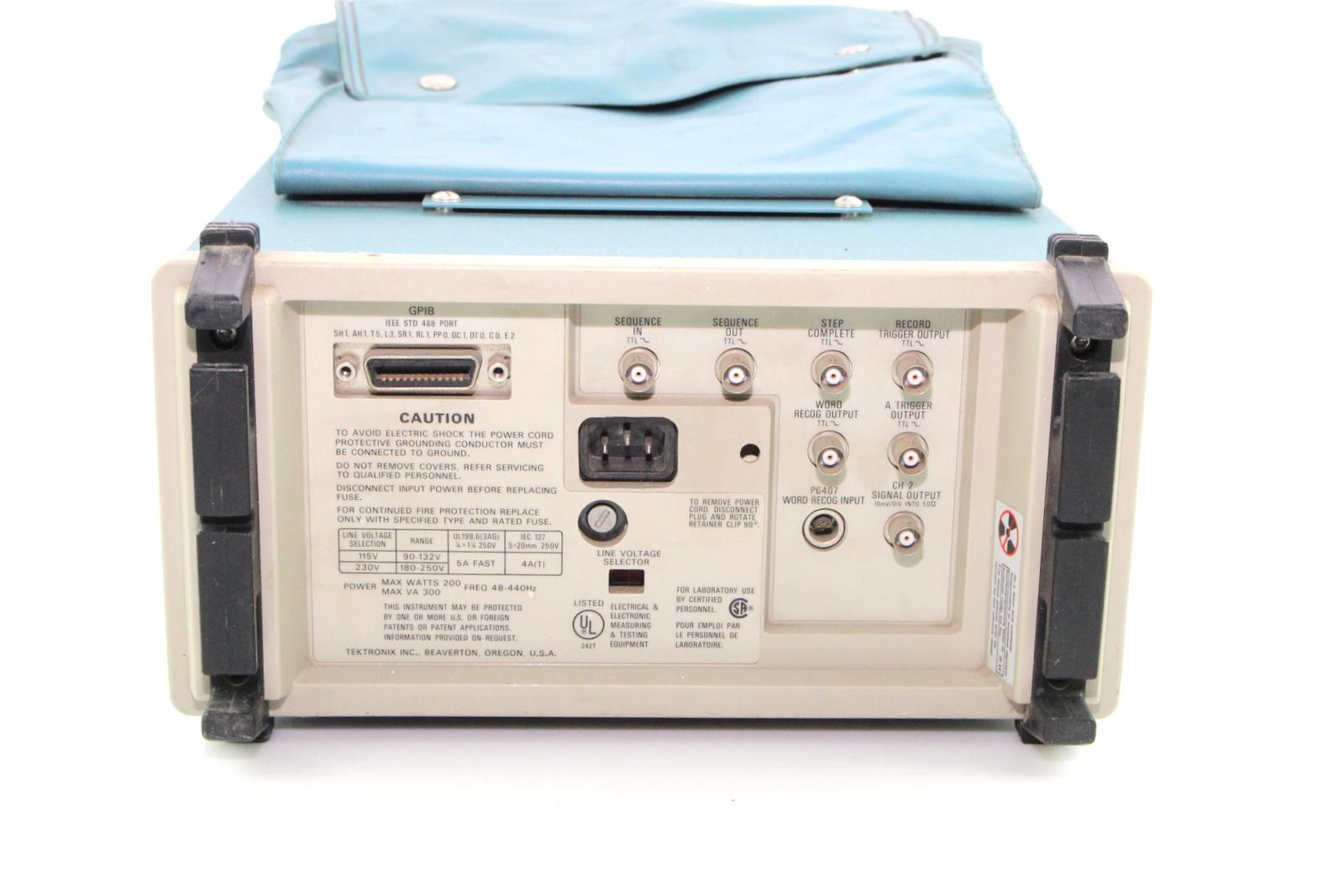 Best Tektronix Oscilloscope : Tektronix a digital oscilloscope ebay