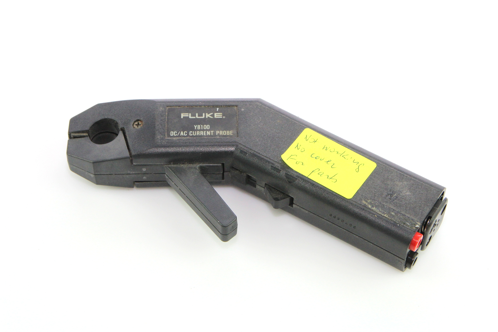 Ac Dc Current Probe : Fluke y current probe dc ac ebay