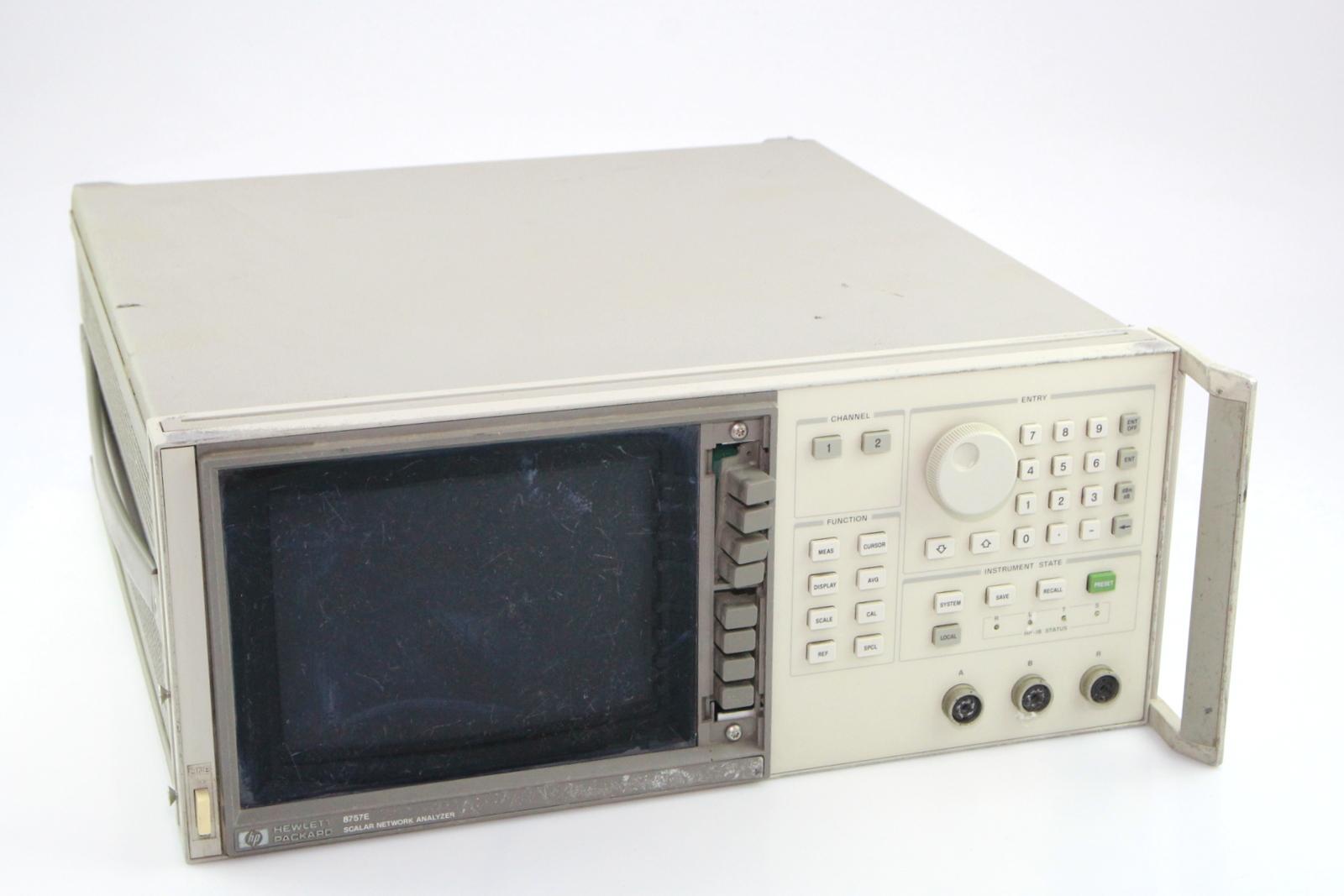 Surplus Electronic Test Equipment : Hp agilent scalar network analyser e ebay