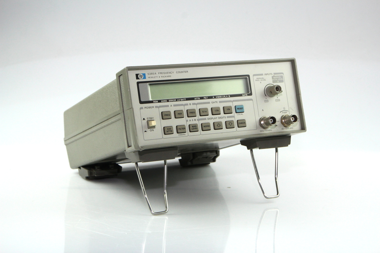 Computer Frequency Counter : Hp a frequency counter hz ghz used