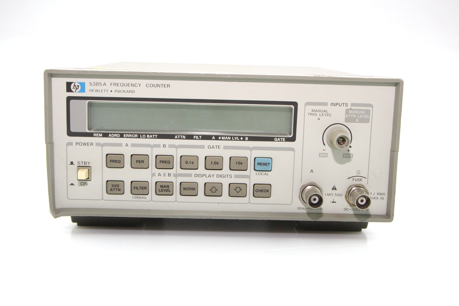 Hp Frequency Counter : Hp a frequency counter hz ghz used
