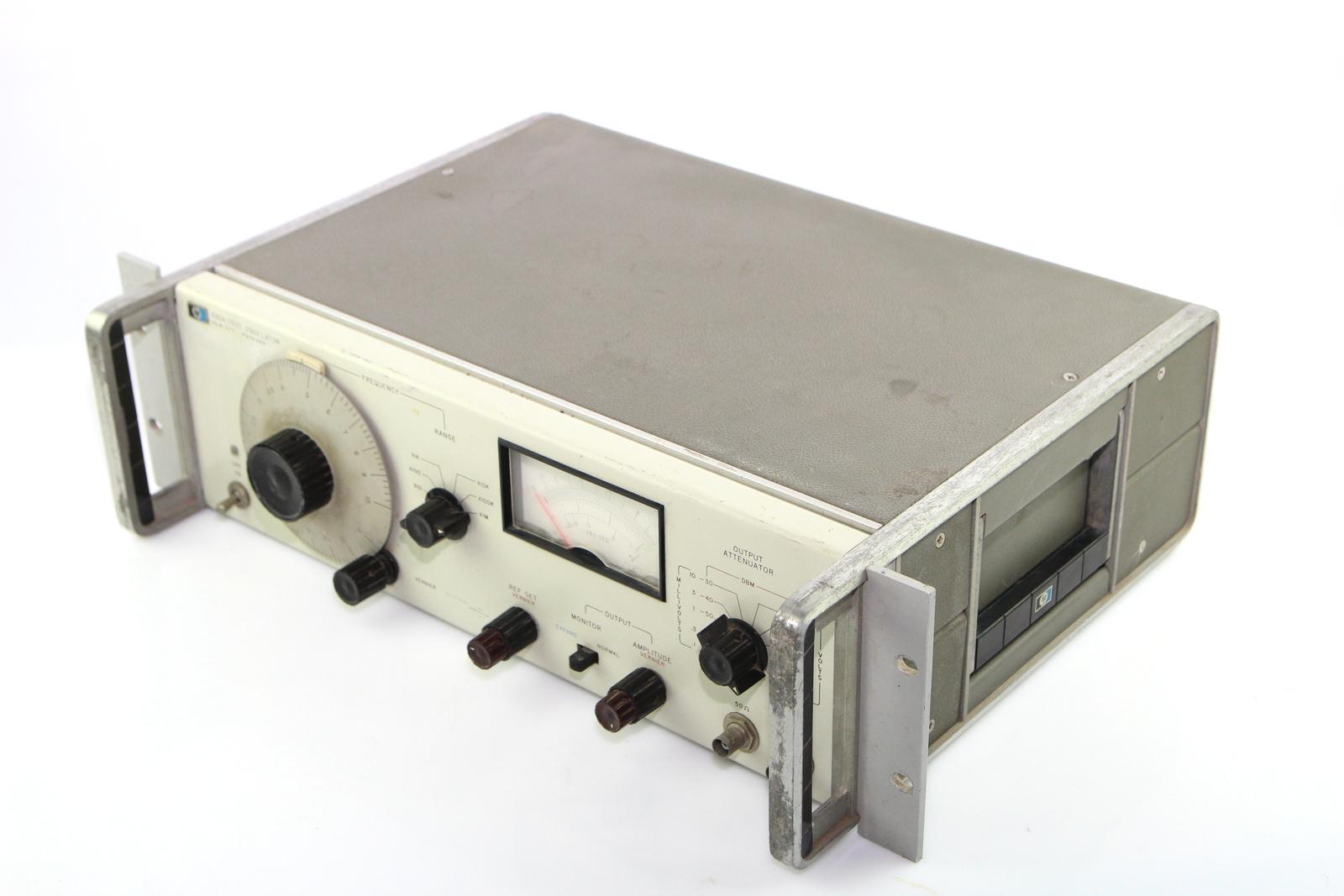 Surplus Electronic Test Equipment : Hp hewlett packard a test oscillator ebay