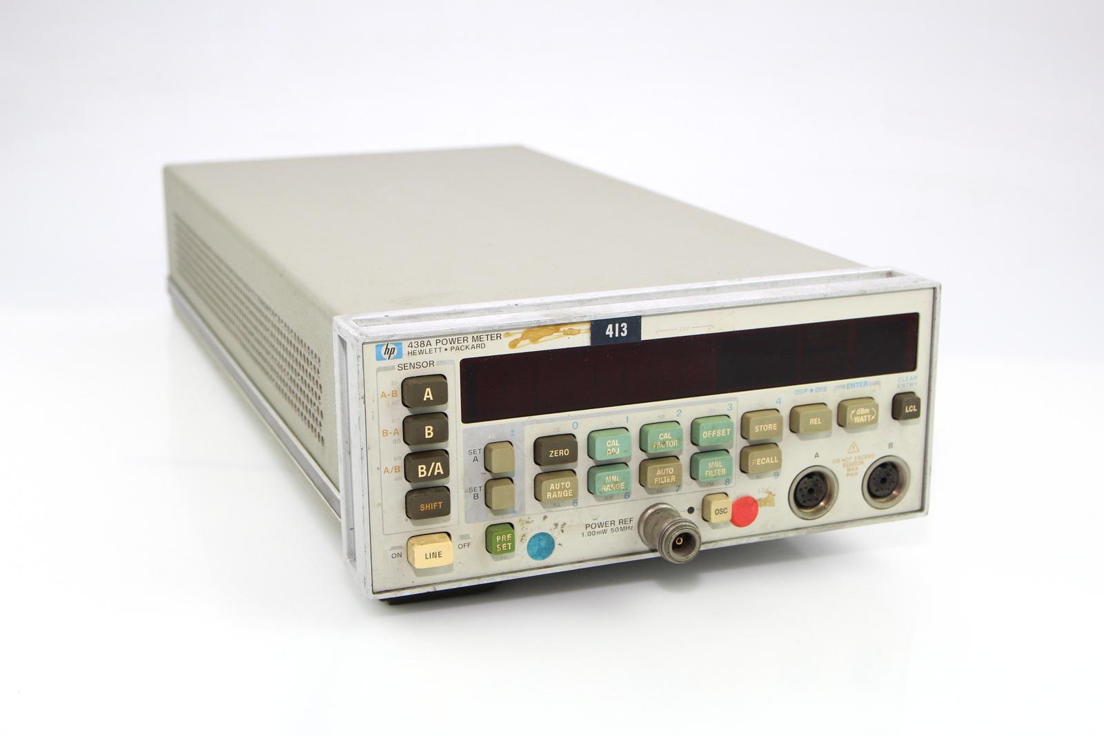 Hp Power Meter : Hp a dual channel power meter ebay