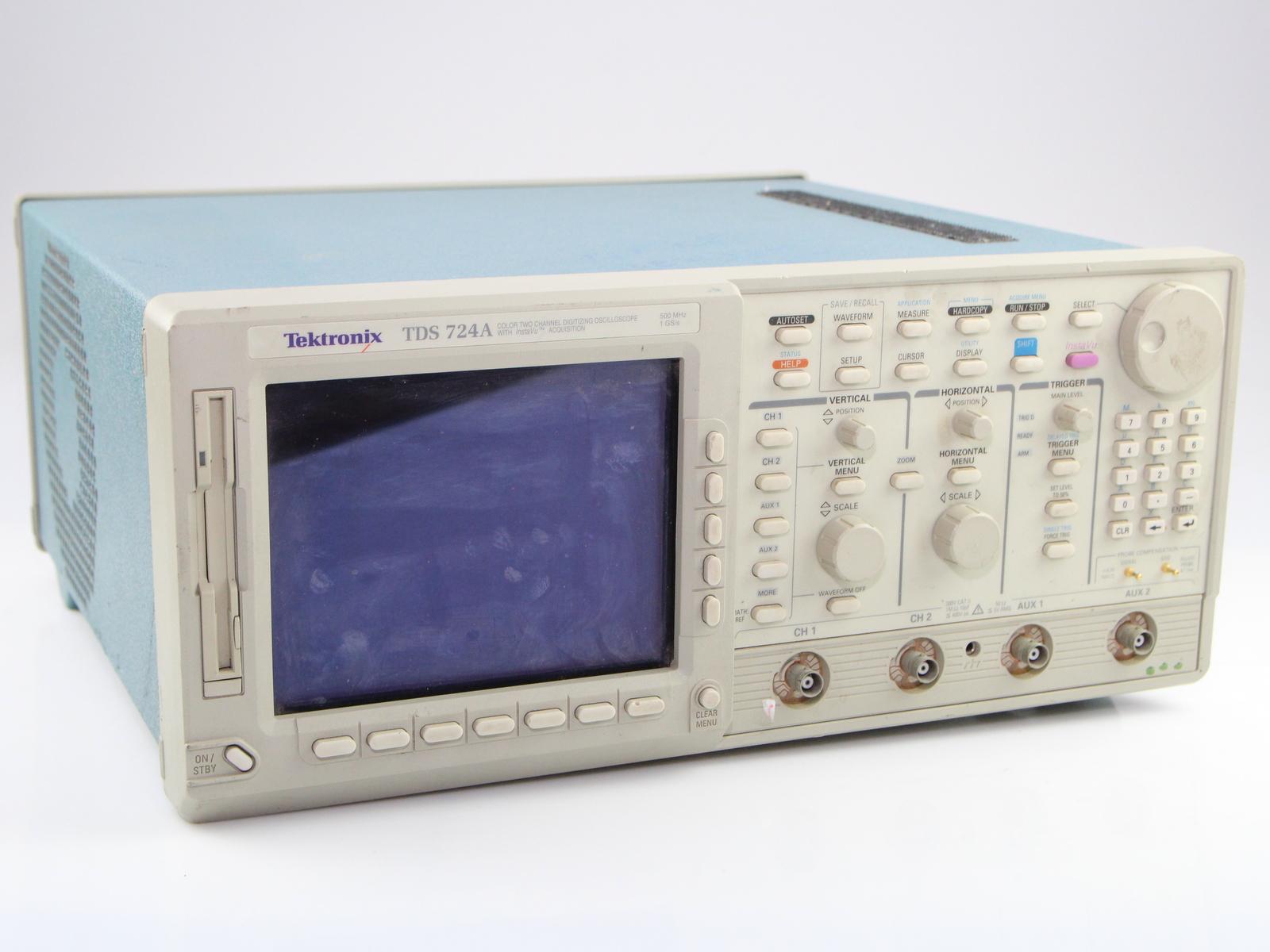 Best Tektronix Oscilloscope : Tektronix tds d digital oscilloscope channel mhz