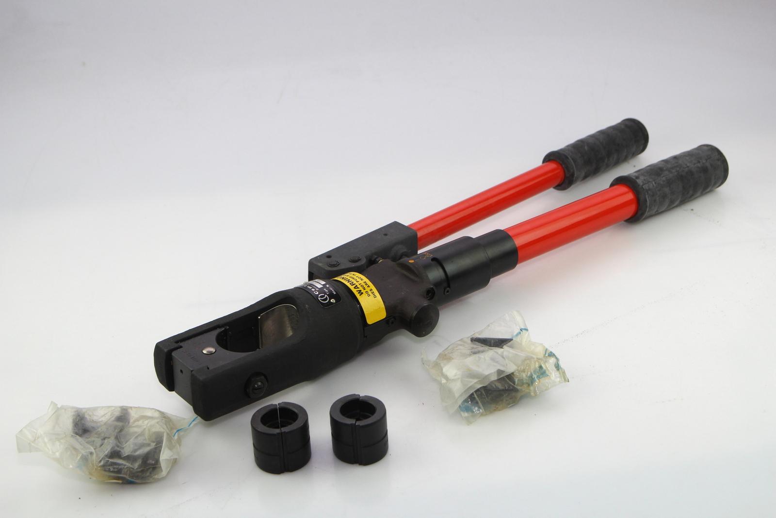 cembre hydraulic crimping tool ht 130 u ebay. Black Bedroom Furniture Sets. Home Design Ideas