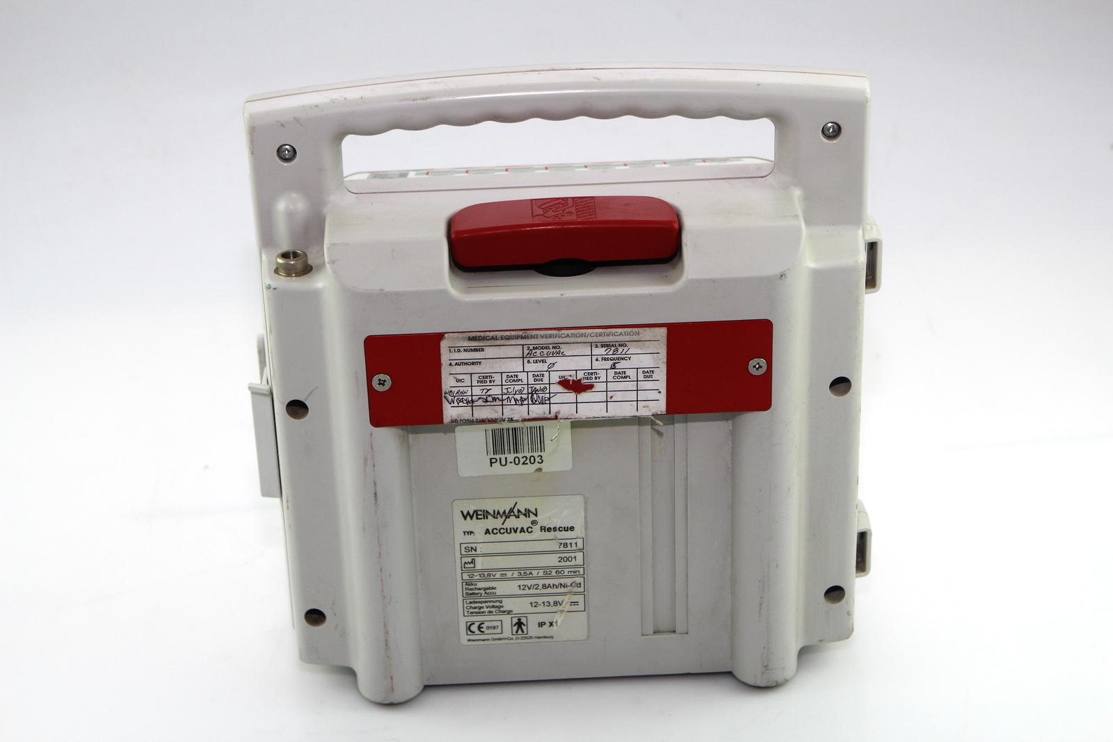 Surplus Electronic Test Equipment : Weinmann accuvac rescue ebay