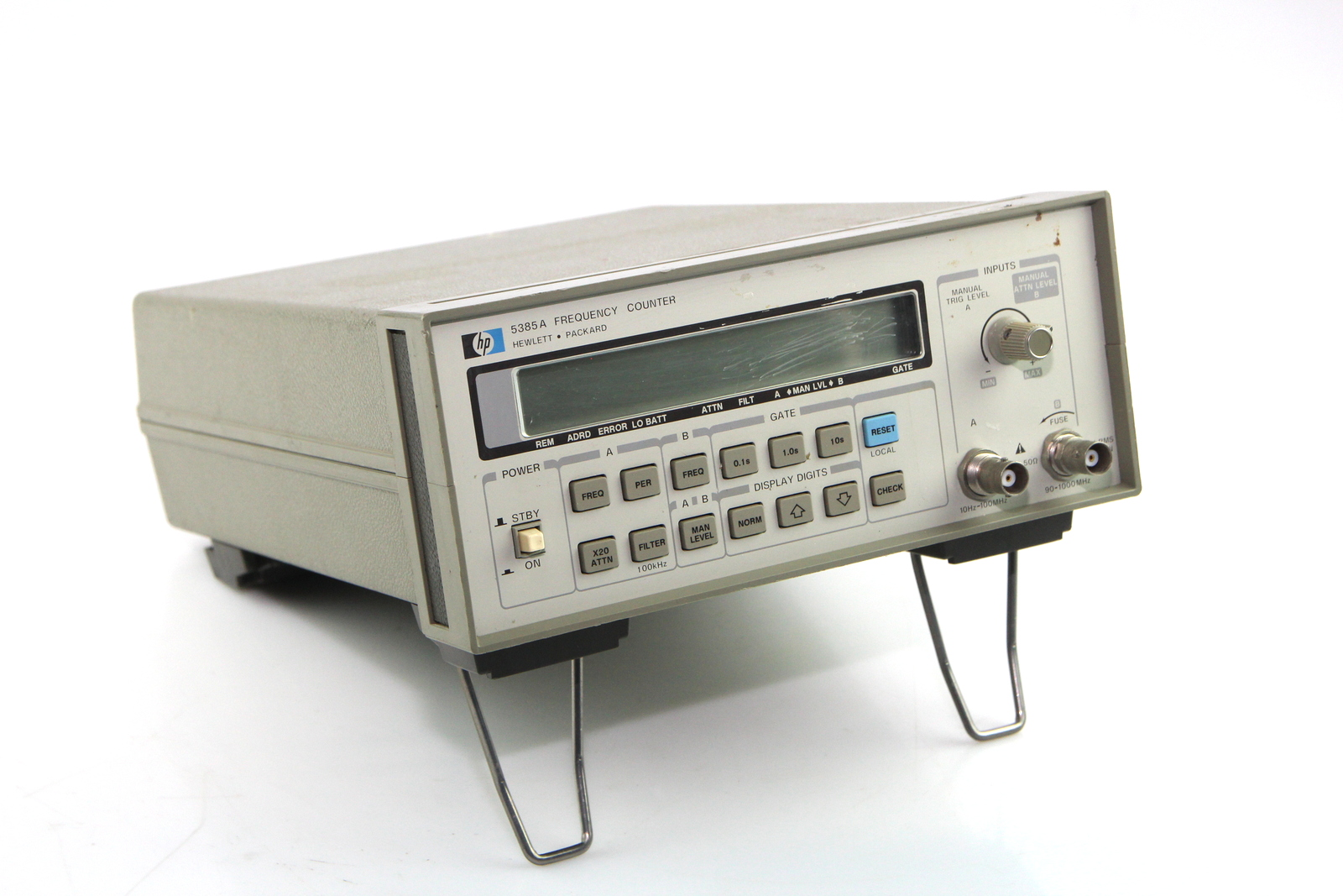 Hp Frequency Counter : Hp a frequency counter hz to ghz used ebay