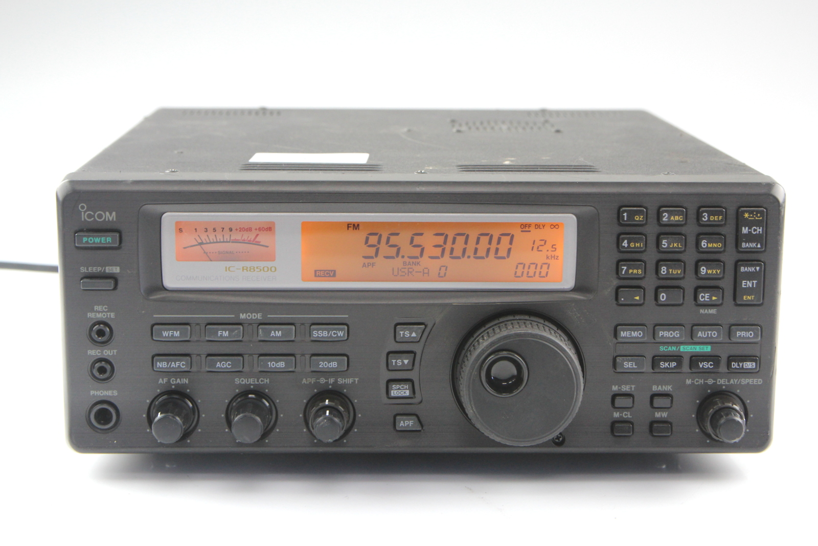 icom ic r8500 communications receiver 1 ebay. Black Bedroom Furniture Sets. Home Design Ideas