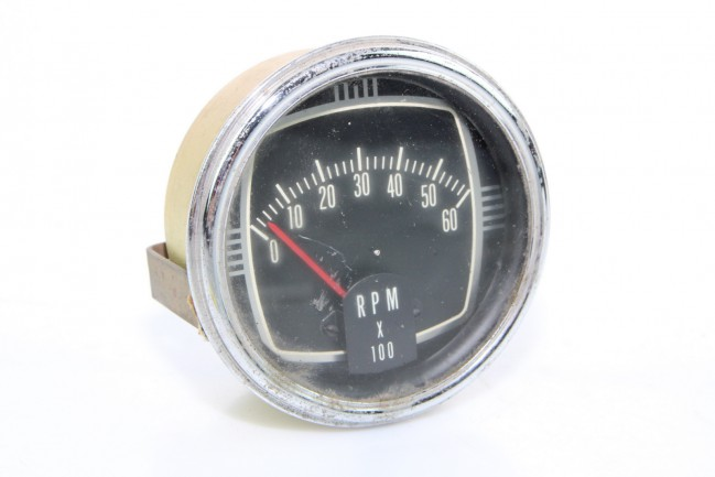 Tachometer 0 60 rpm gauge rpm x 100 0 60 used electric for Tachometer for electric motor
