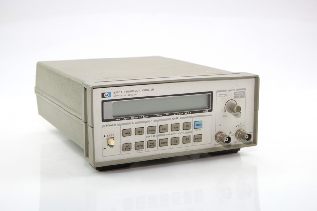 Hp Frequency Counter : Hp a frequency counter used counters lab test