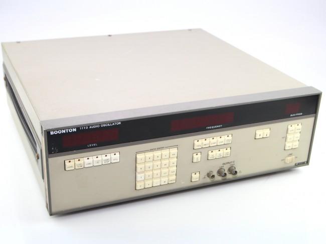 Boonton 1100 Audio Oscillator used - Audio & Distortion ...
