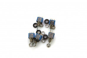 LOT OF 5 CDK 5647 ON-OFF-ON MOMENTARY TOGGLE SWITCH APR APEM E3
