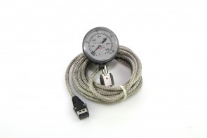 Celerity IPT122 0-3000 psi 0-200bar Pressure Gauge with Female VCR Fitting