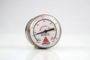 Anderson Pharmaceutical Series KPa=BARx100 0-30 PSI 0-2 BAR Gauge