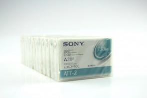 LOT OF 12 SONY SDX2-50C 50/130GB AIT-2 DATA TAPE CARTRIDGE
