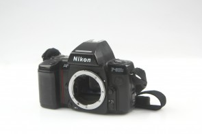 NIKON AF F-801S 35mm Film Camera Body Only #2