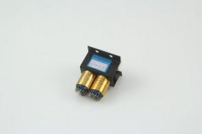 C.P. Clare Dual Bank Mil Spec Push Button Switch Module GA0201D10