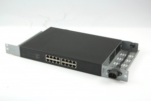 IBM 22R4916 16-Port 1Gb Ethernet Switch 10/100/1000 DS8000 W/Left and Right Bracket