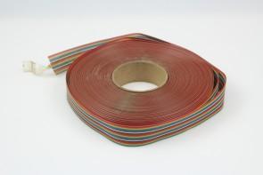 3M Flat Ribbon Cable Black Round Jacket 26 Conductors