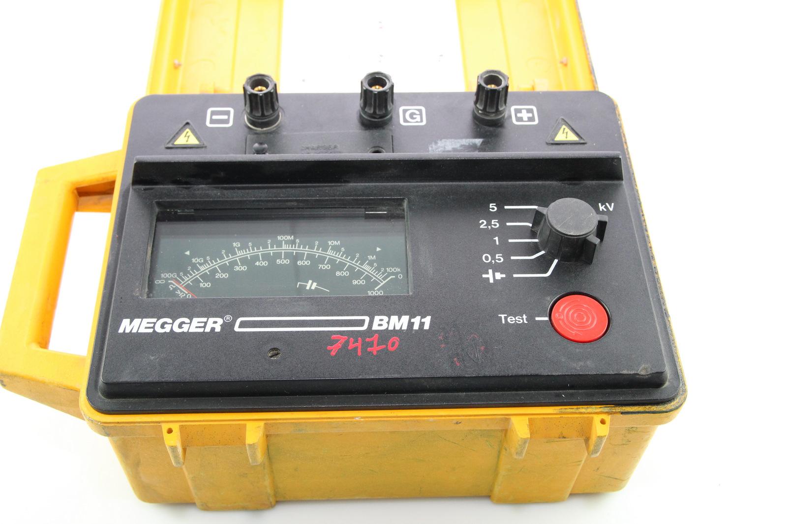 Surplus Electronic Test Equipment : Megger bm kv insulation tester ebay