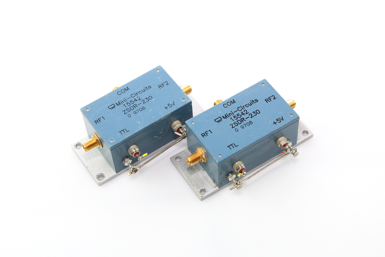 Details about Mini Circuits ZSDR-230 SPDT Pin Diode Coaxial RF Switch Wide  Range 10-3000MHz