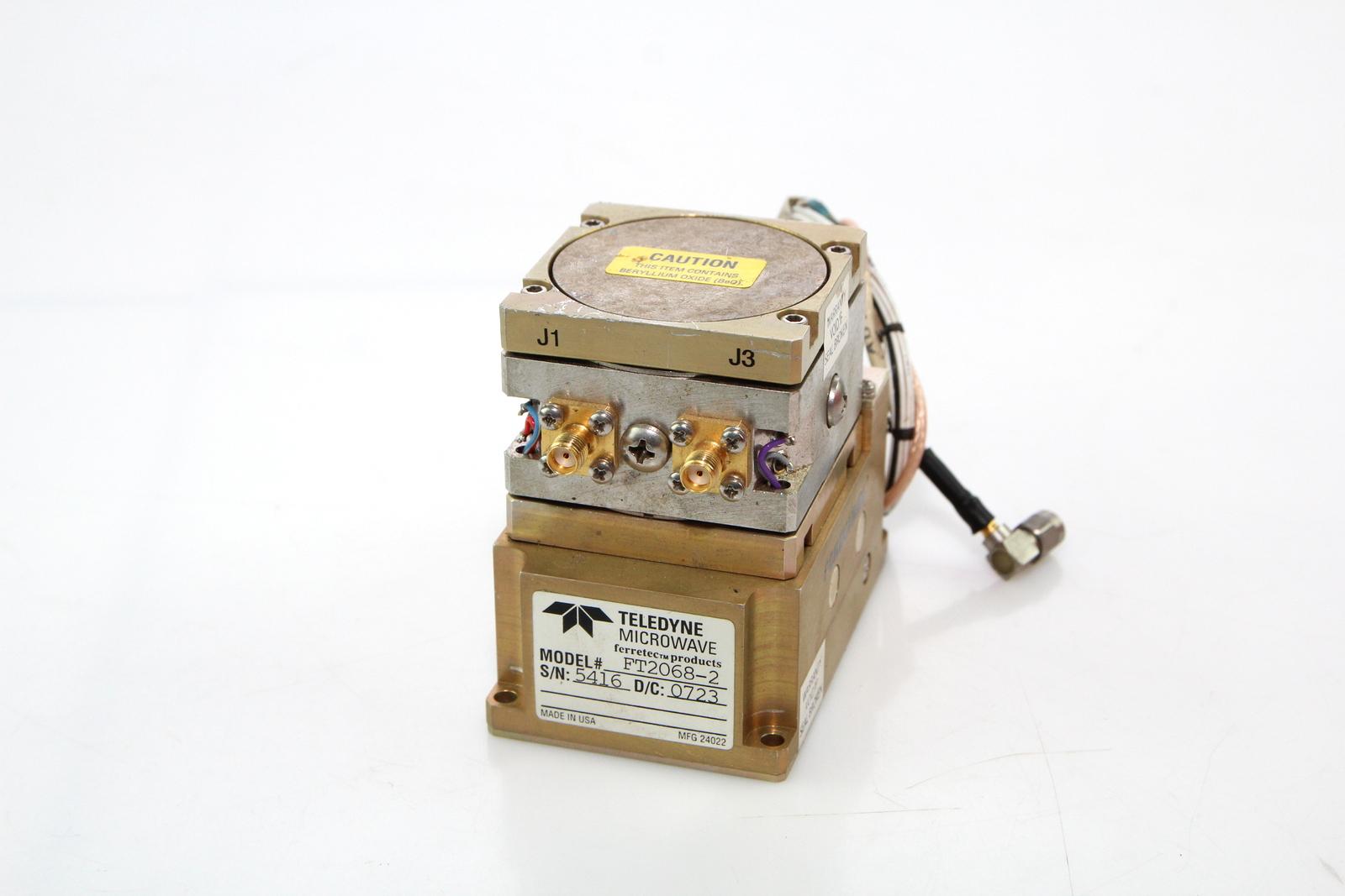 Ferretec FT2068-2 RF Microwave YIG Bandpass Filter