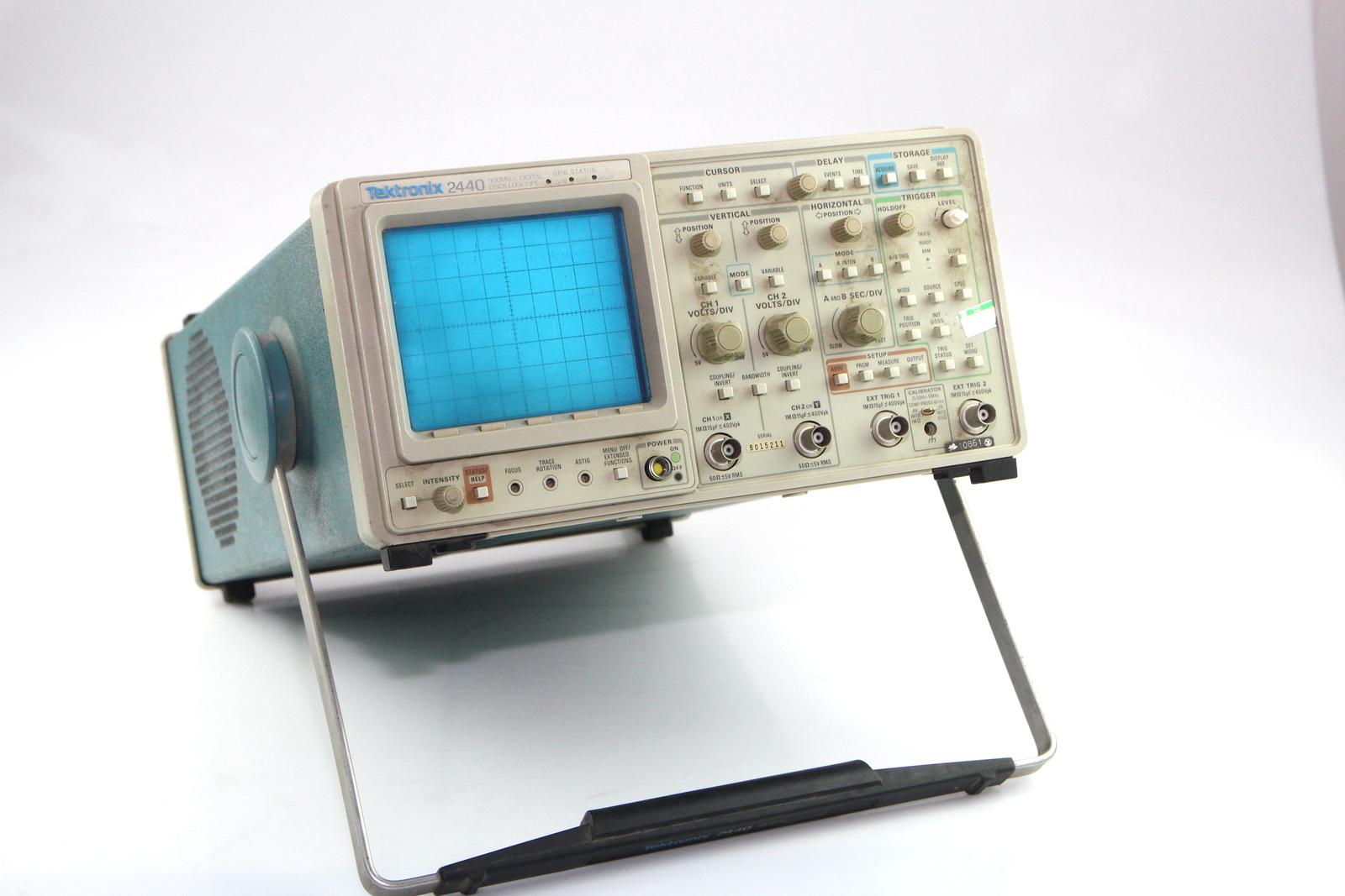 Surplus Electronic Test Equipment : Tektronix channel mh z digital oscilloscope