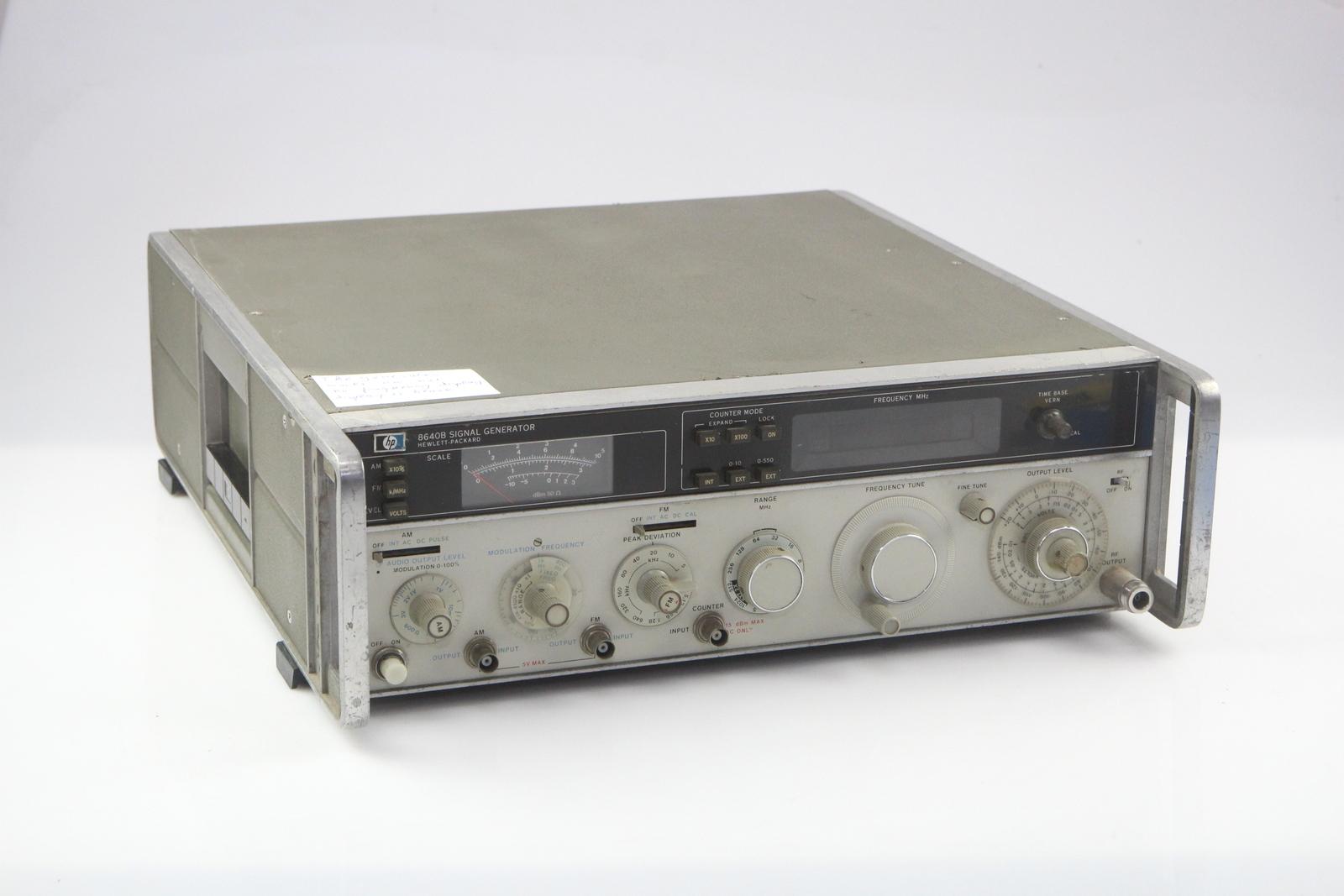 Hp Signal Generator : Hp b signal generator opt ebay
