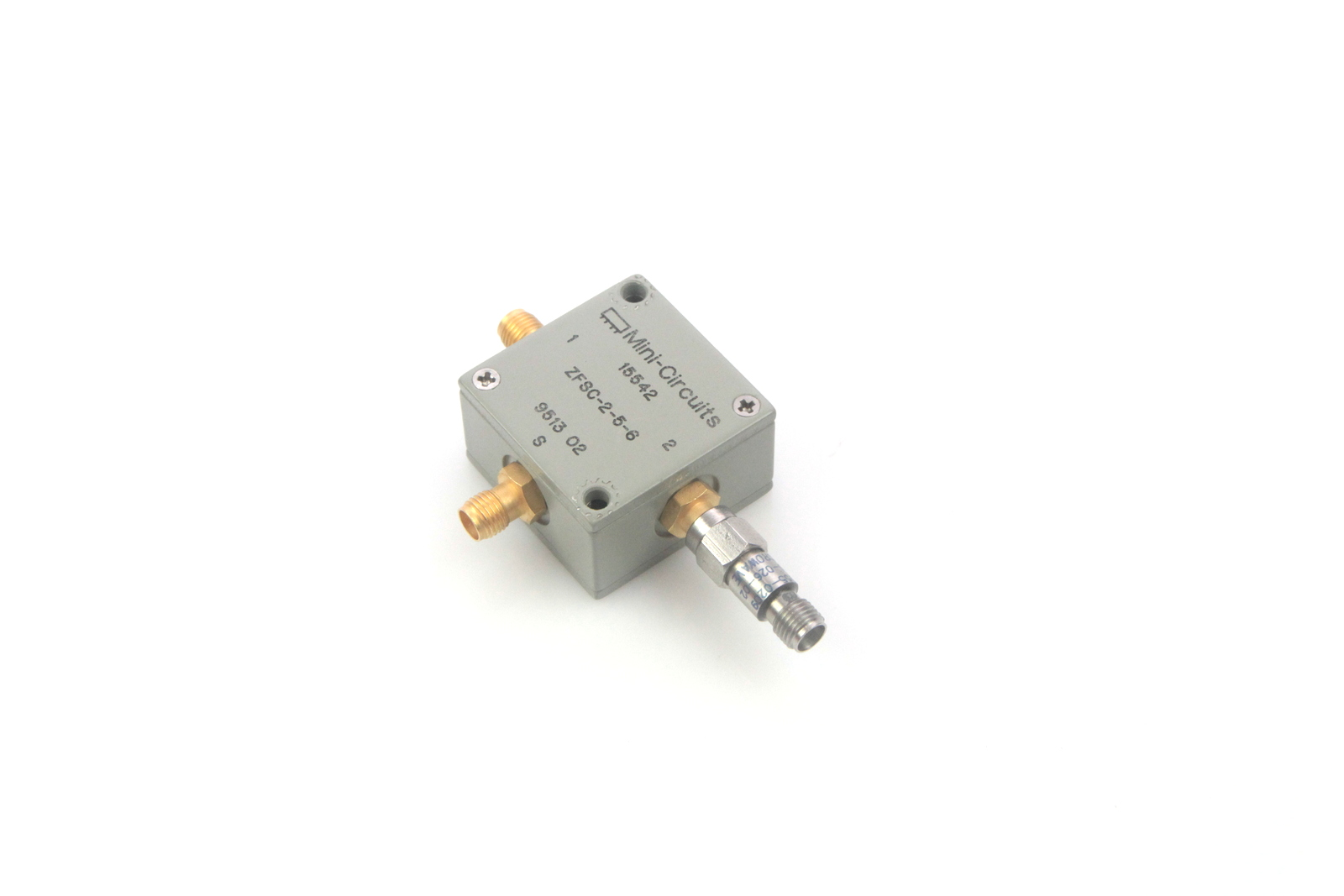 Details about Mini-Circuits ZFSC-2-5-6 10 to 1500 MHz, SMA (F) Splitter  Combiner w/0955-0209