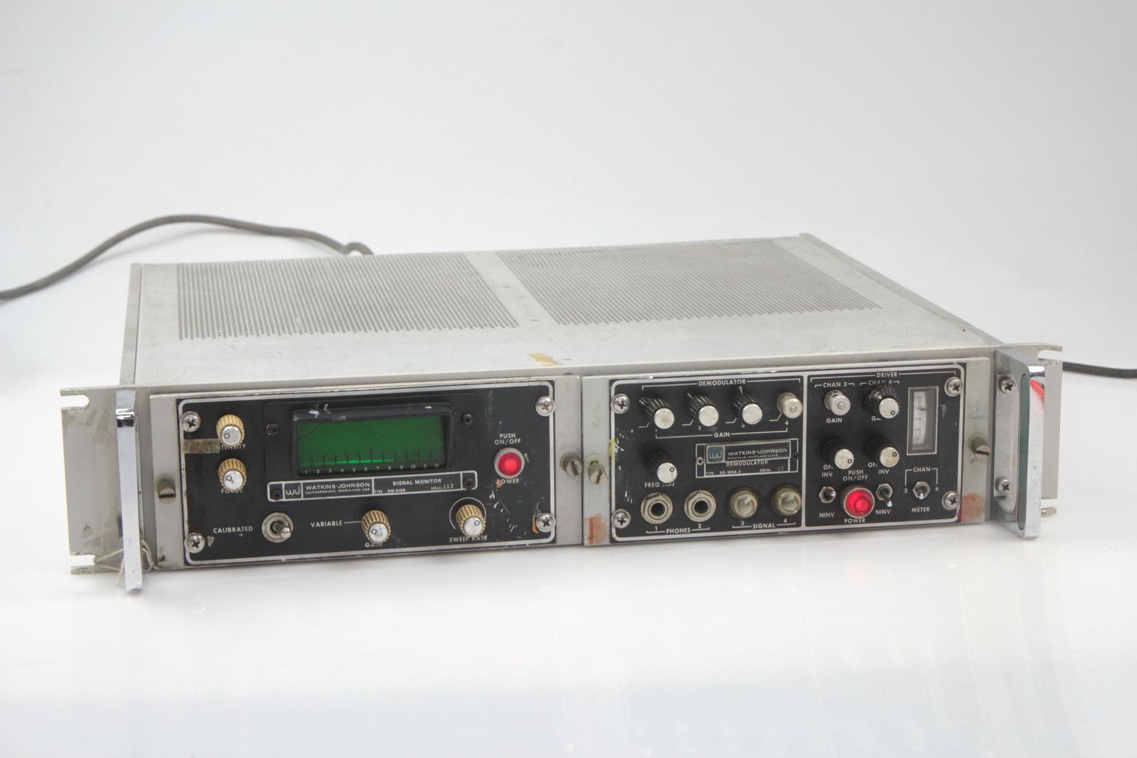 Eaton SM-C447075 Connector WJ-8770 WATKINS JOHNSON 3 Pin Battery In