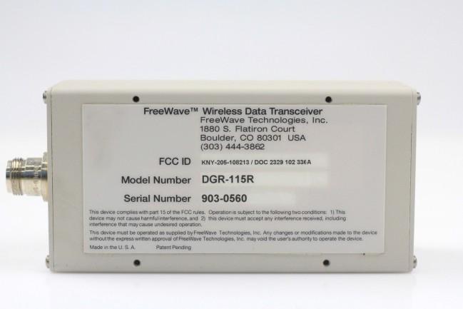 Freewave Wireless Data Transceiver Model DGR-115R