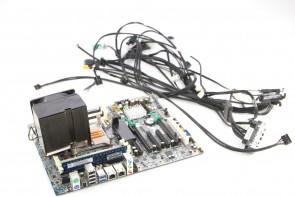 HP Intel Z620 Desktop Workstation Motherboard 619559-001 w/E5-2640 CPU,2gb ram & Cables