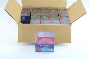 Verbatim Pocket CD-R 21min 185mb Recordable Mini Disk PACK OF 10(100PCS)