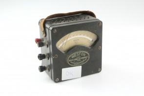 Weston Electrical Instruments Model 433 A.C. Meter
