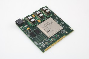 VIRTEX-5 XC5VLX220T On Board Chip
