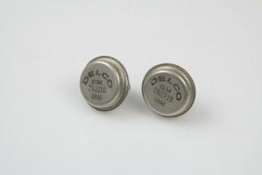 2 Vintage 2N2210 Original Transistors NOS Delco GM and Tung-Sol